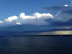 Storm over Sewall's Point. (JTL)