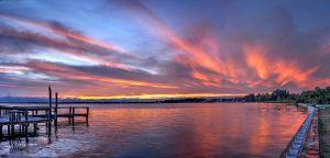 St Lucie Sunrise, John Whiticar.