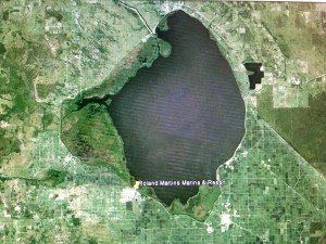 Lake Okeechobee. Google maps as shown in our UF'S NRLI packet.