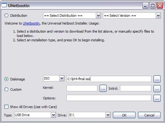 Crear un live USB de Backtrack para cualquier version de Windows (1/2)