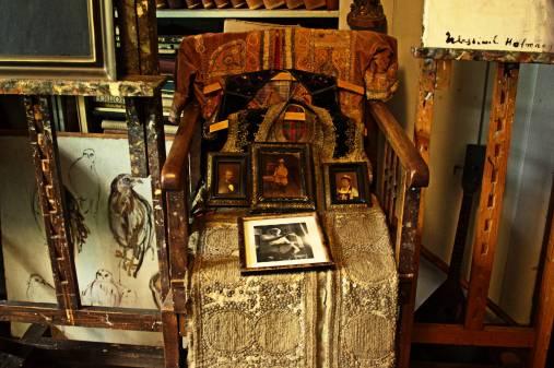 Krzesło rodzinnych pamiątek