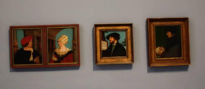 Jacob Mayer zum Hasen i jego żona Dorothea, Bonifacius Amerbach i Erazm z Rotterdamu mieszkańcy Bazylei. W dniu03 lipca1520Holbein zostaje obywatelem tego miasta oraz z czasem właścicielem dwóch domów