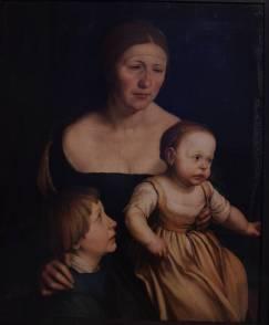 """W dniu 25 września 1519 Holbein zostaje przyjęty do gildii malarzy """" Zum Himmel"""" w Bazylei i w tym samym roku żeni się z Elsbeth Binzenstock"""