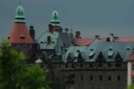 W latach 1705–1732 przebudowano zamek w stylubarokowym nazlecenie Konrada Ernsta Maksymiliana von Hochberga