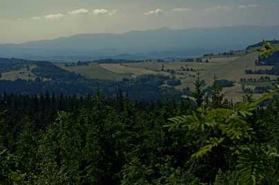 Panorama z Okola