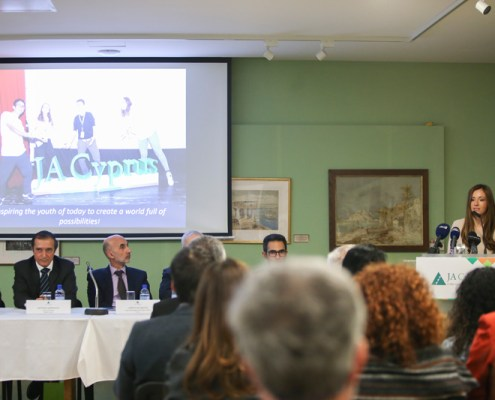 Press Conference JA Cyprus 2017