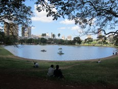 Uhuru Park, on my morning commute