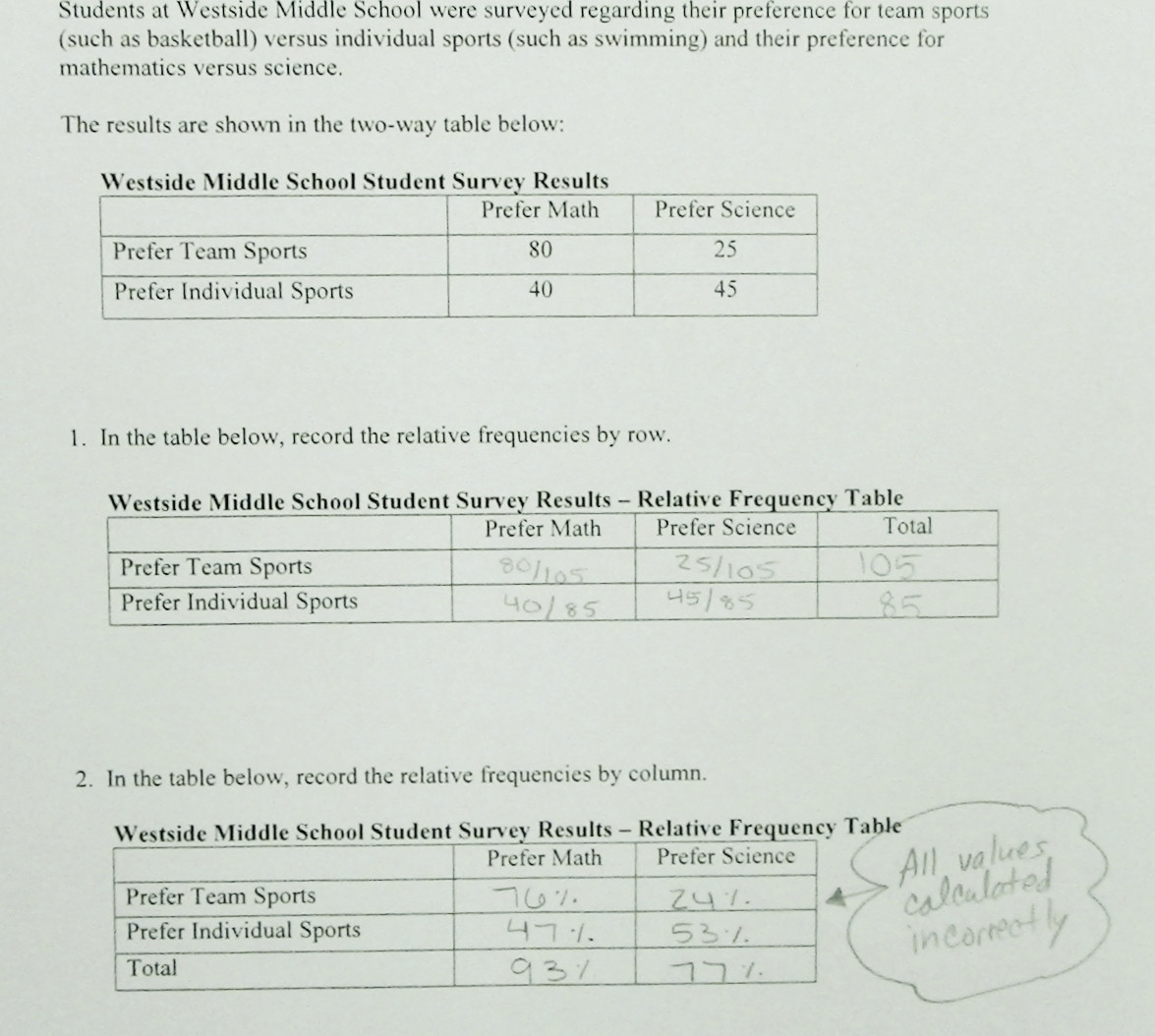 30 Frequency Table Worksheets 6th Grade