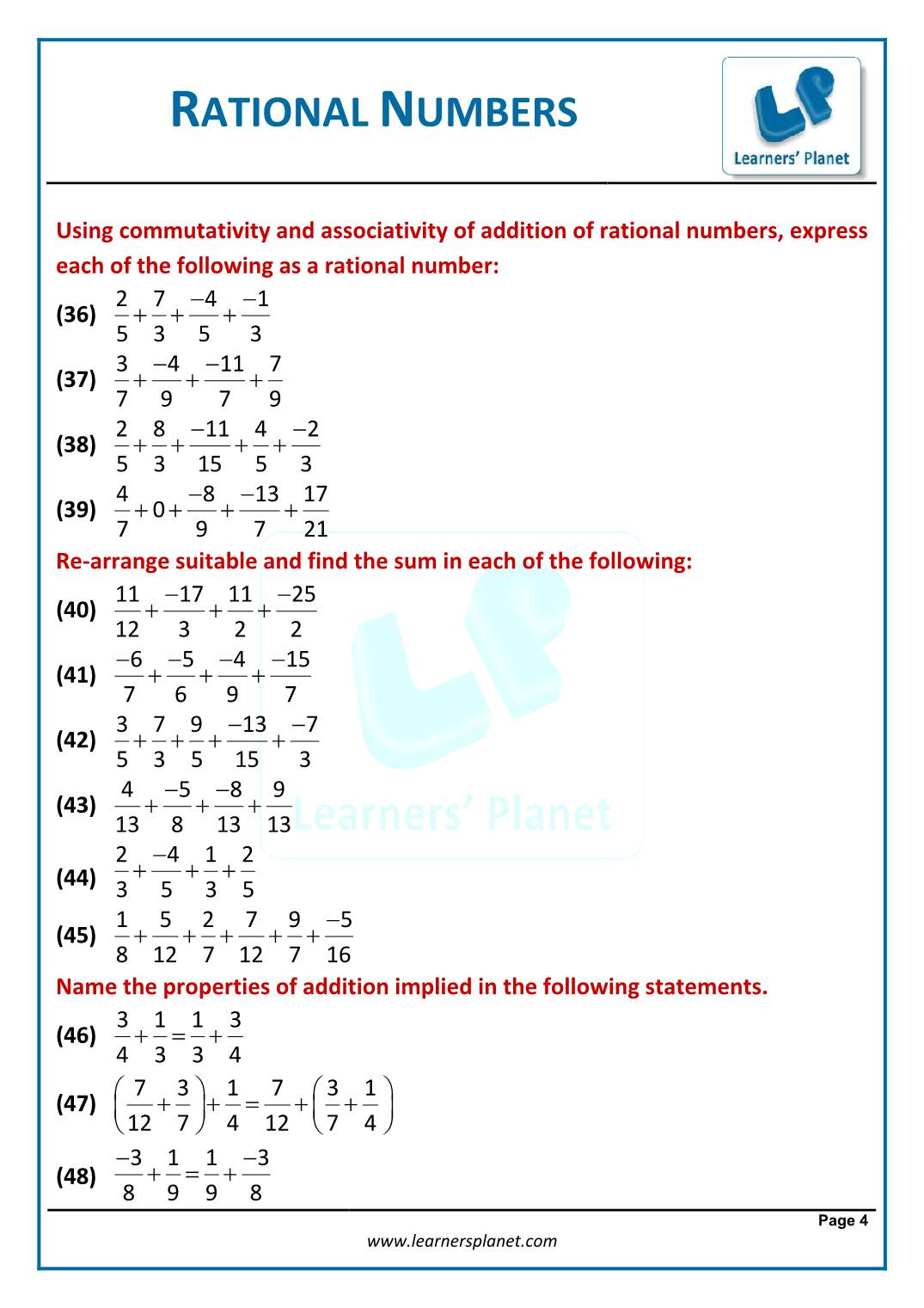 30 Identify Rational Numbers Worksheet