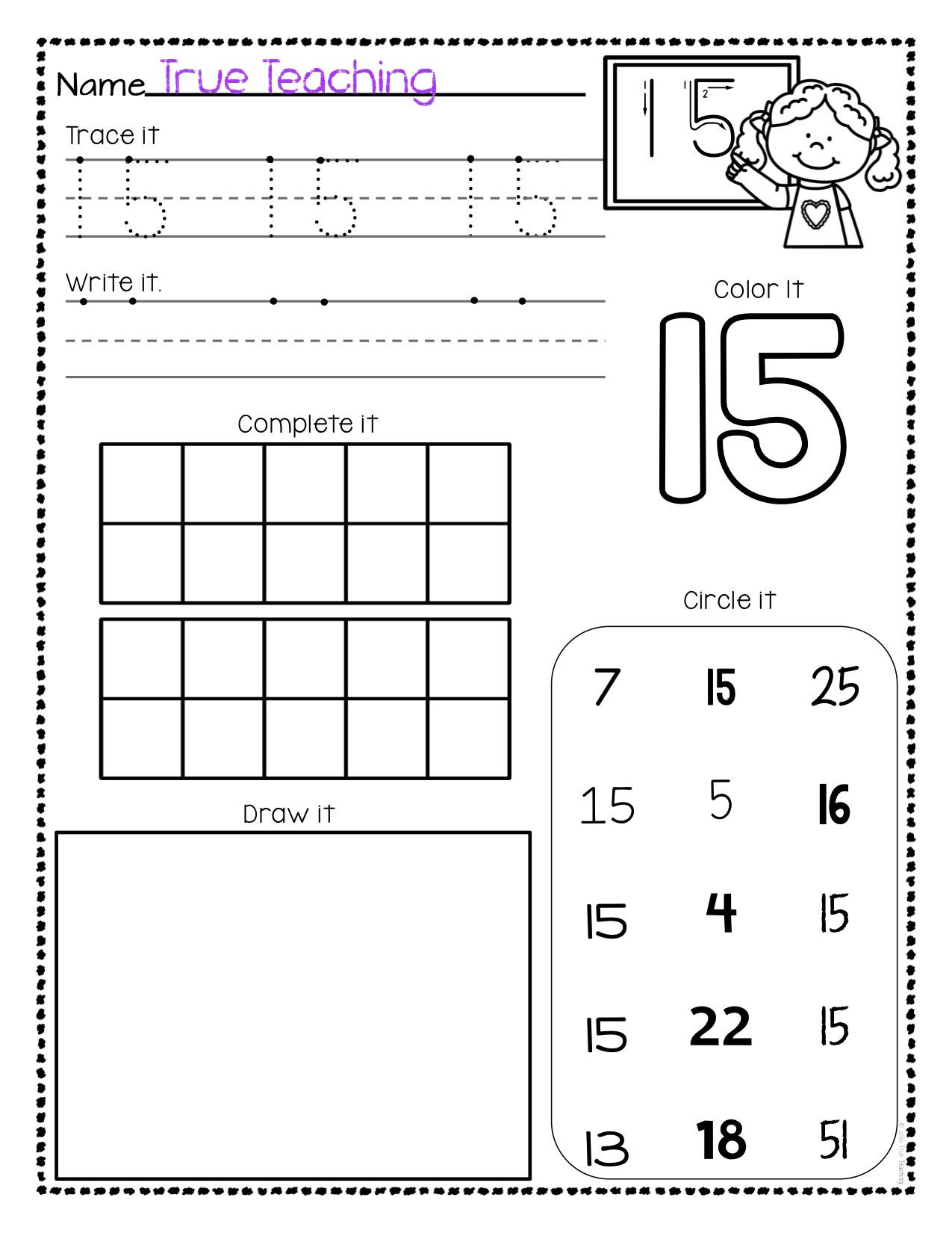 Tracing Numbers 11 20 Worksheets Template Library