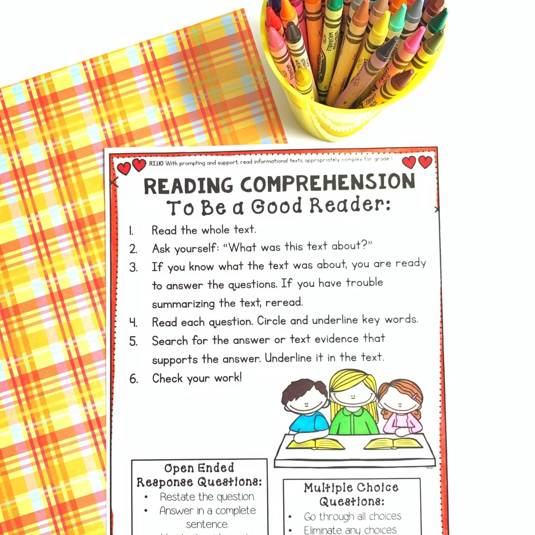 30 Reading Comprehension Informational Text Worksheets
