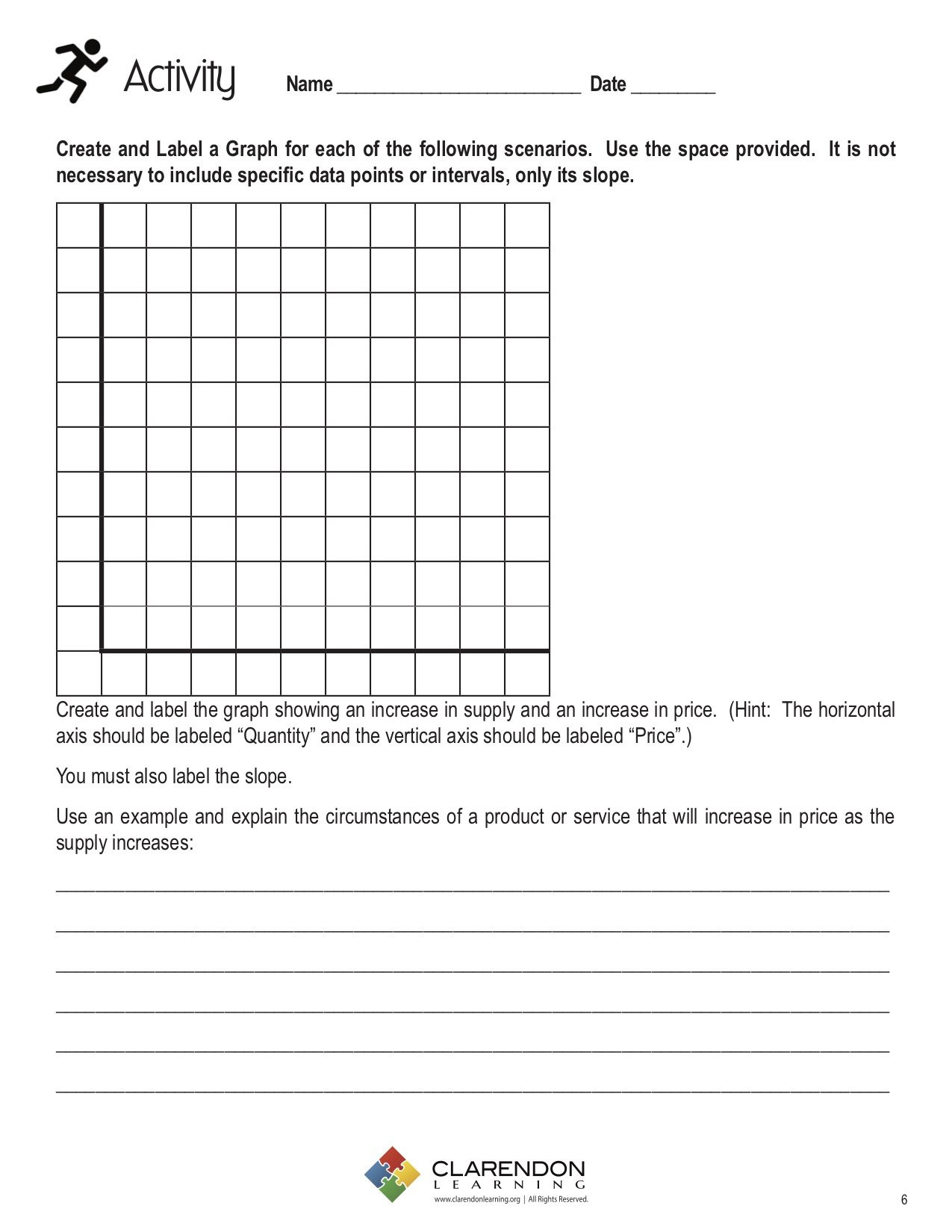 30 Graphing Supply And Demand Worksheet