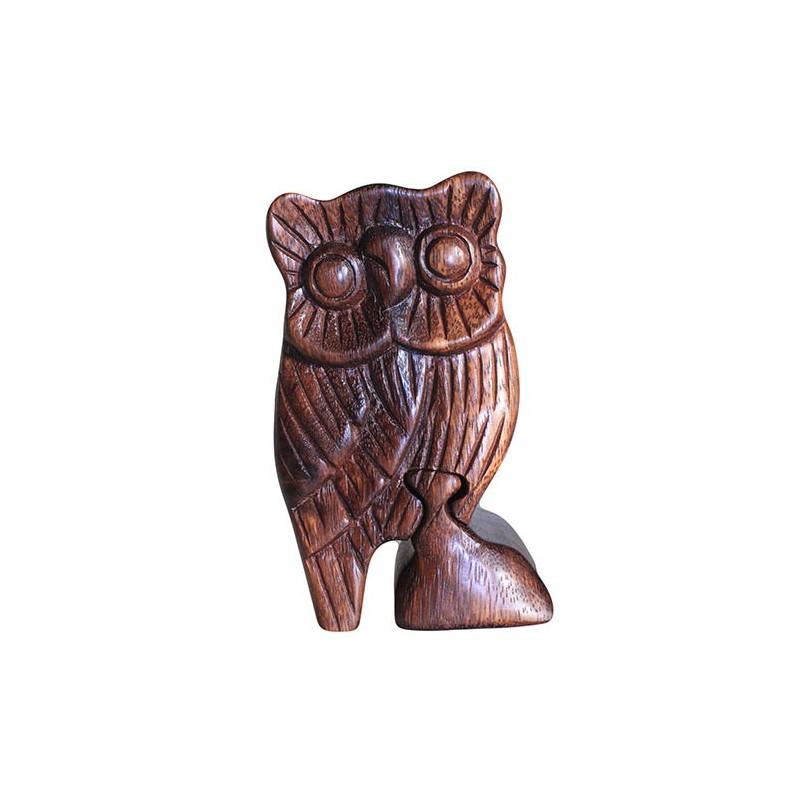 Owl Bali Puzzle Box