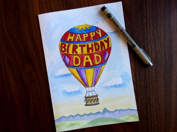 A Printable Birthday Card For Dad Jadeflower