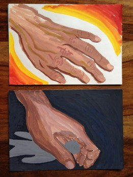 Selecting images and responding to them can be a powerful tool in art therapy