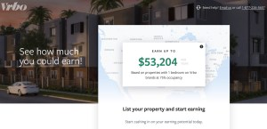 rent your spare room and earn with Vrbo