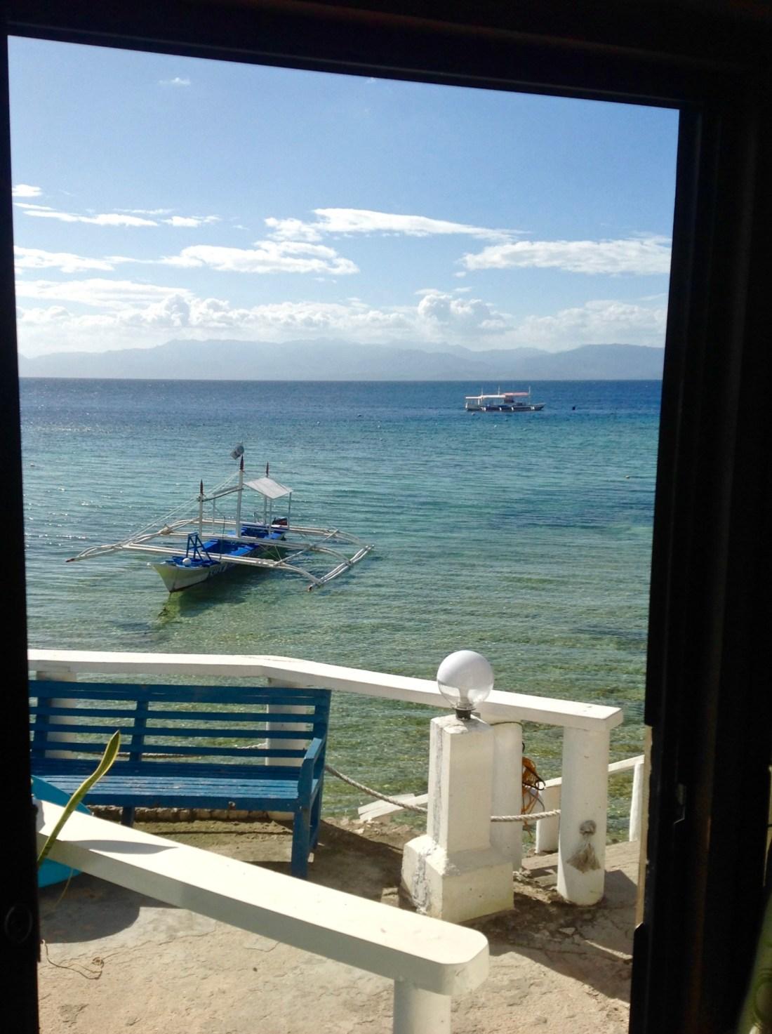 Snorkelling, diving, moalboal, asian Belgian resort moalboal, Cebu, Philippines, image by Jade Jackson