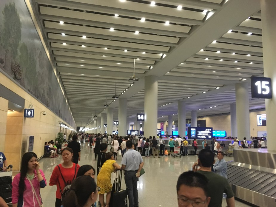 Xi'ian International Airport, Xi'an China, Chinese airlines, china air travel, cheap china air tickets, cheap china travel, CHina airport, Image by Jade Jackson