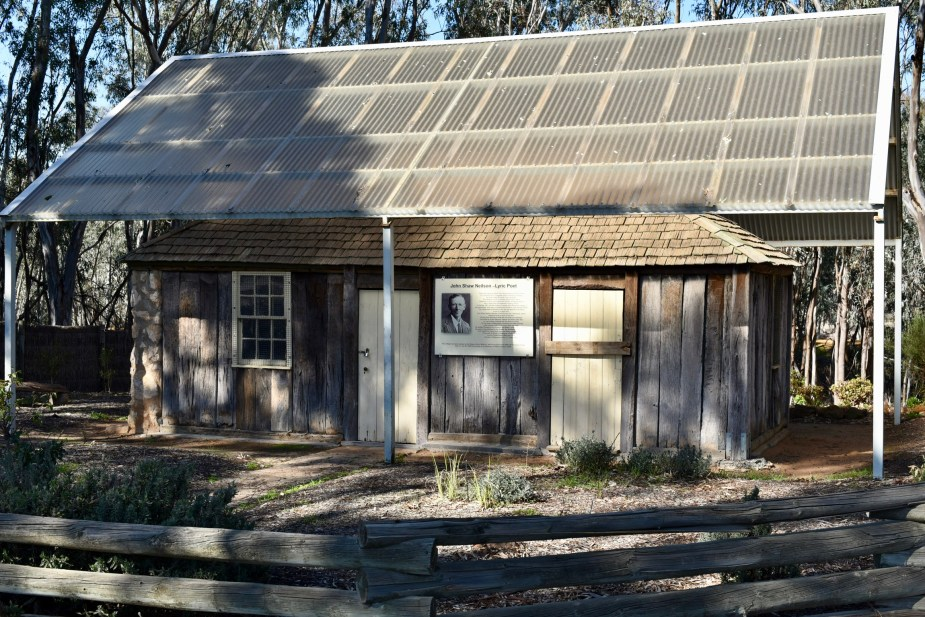 Australian Poet, John Shaw Neilson's house in Nhill, Victoria. Image by Jade Jackson.