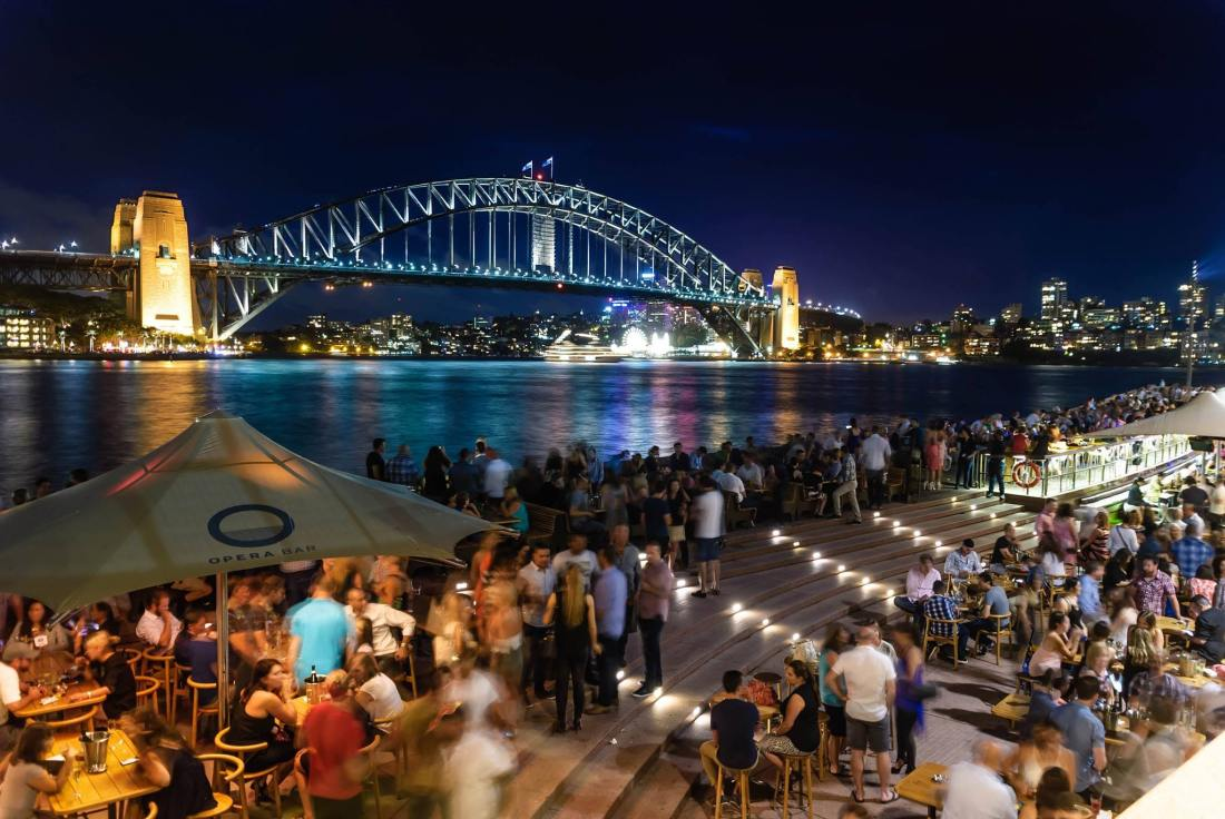 Sydney harbour bridge opera bar free voucher