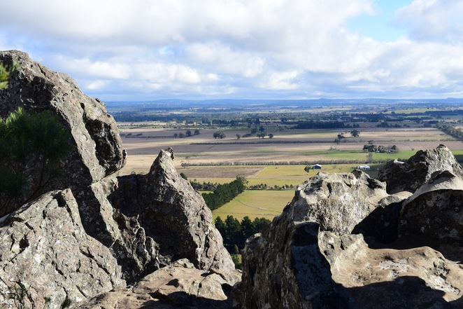 Hanging rock view from the top, hanging rock Victoria, image by jade Jackson