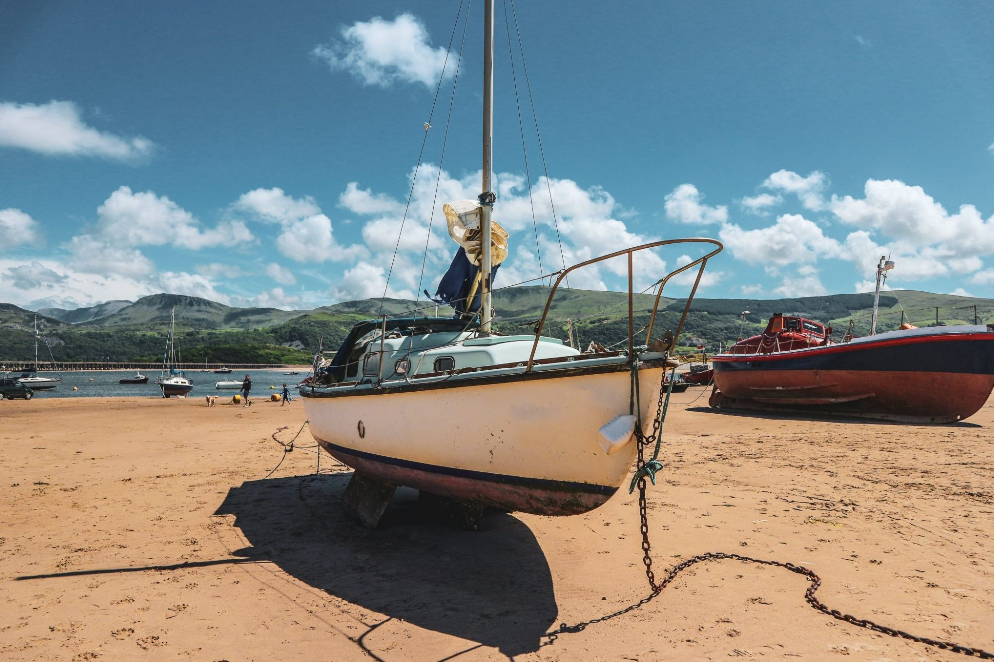 Bournemouth Beach • Seaside • Summer • Holiday • Boat