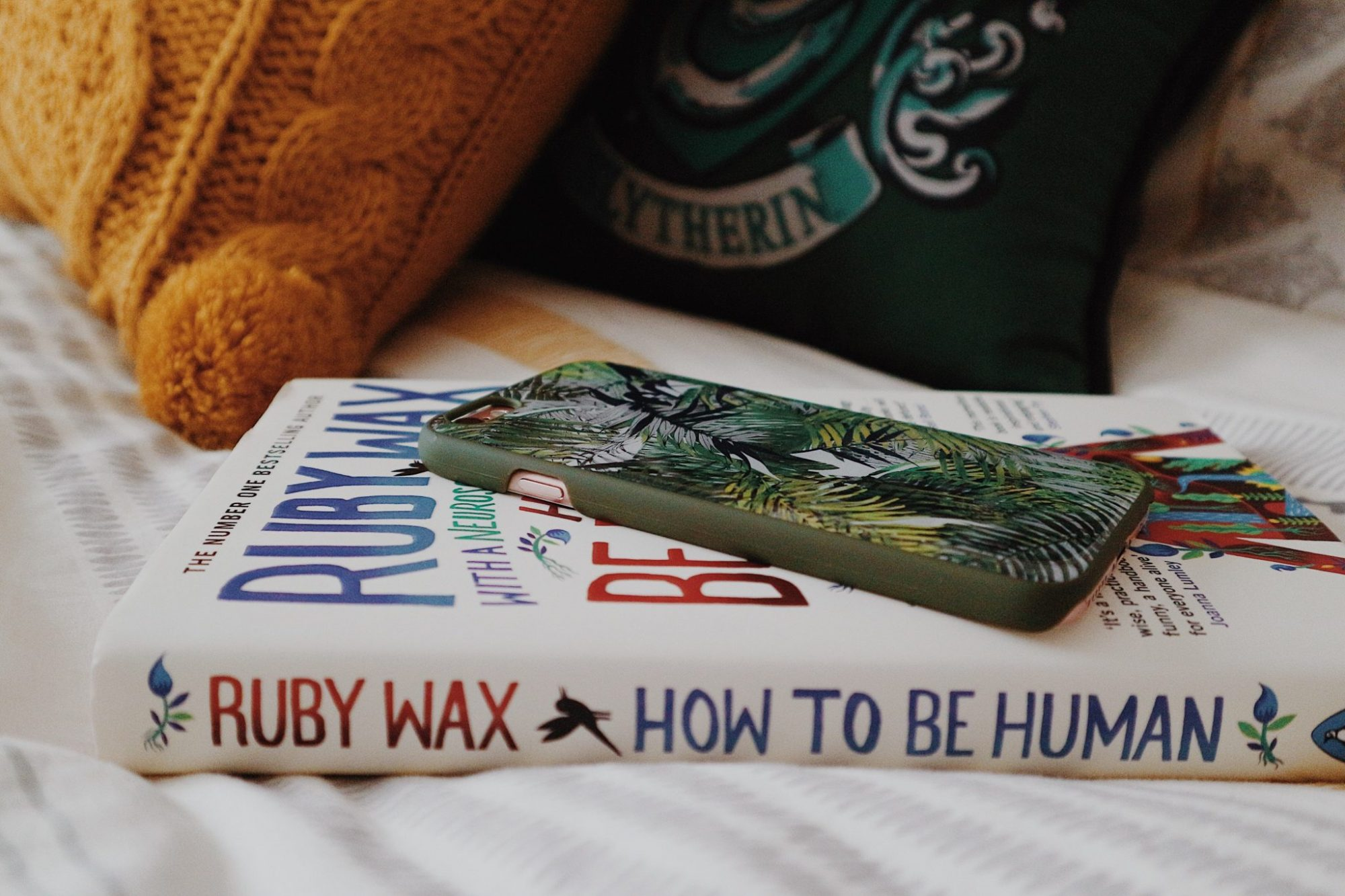 How To Be Human By Ruby Wax and iPhone 6s