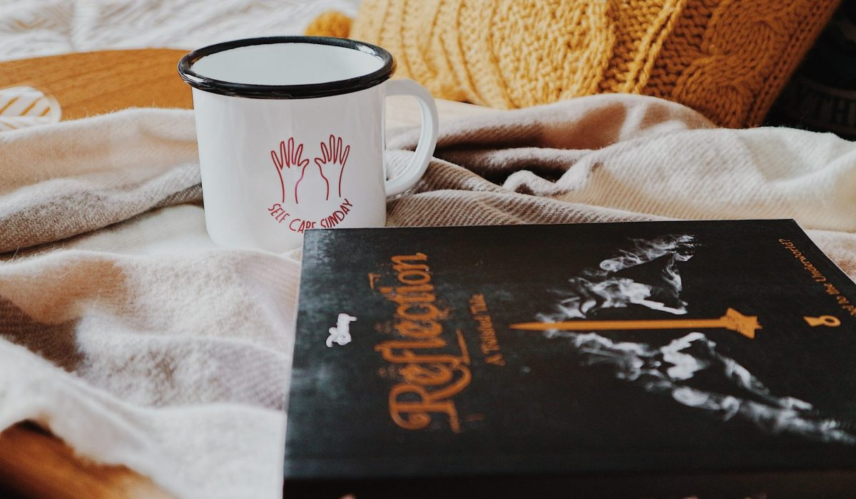 Self Care Sunday Mug + Twisted Tale: Reflection Book