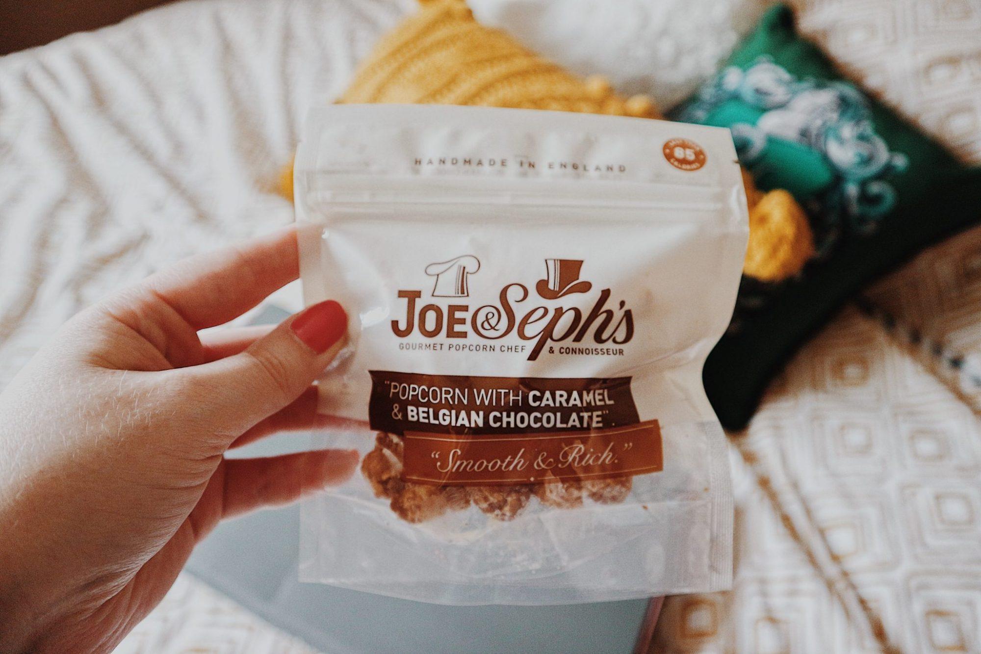 Joe & Seph's Caramel and Belgian Chocolate Popcorn