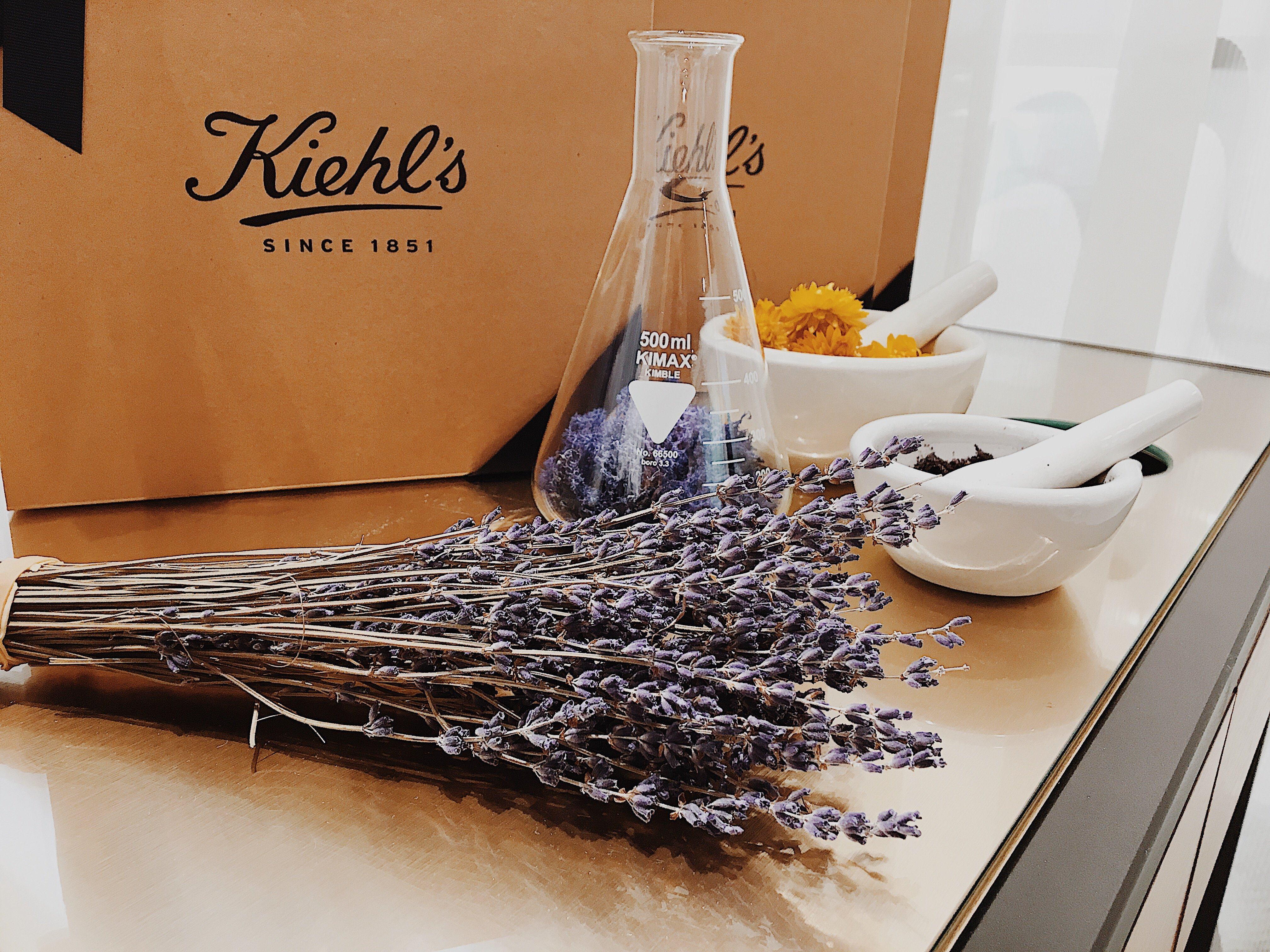 Kiehl's Blogging Event   Lavender   Flowers
