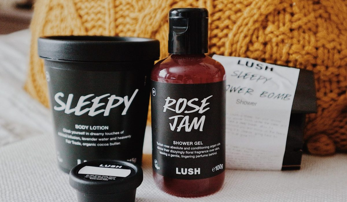 Lush Haul | Rose Jam | Sleep Body Lotion