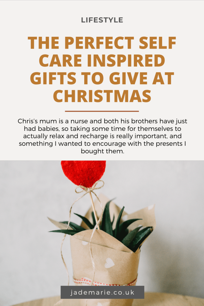 The Perfect Self Care Inspired Gifts To Give At Christmas