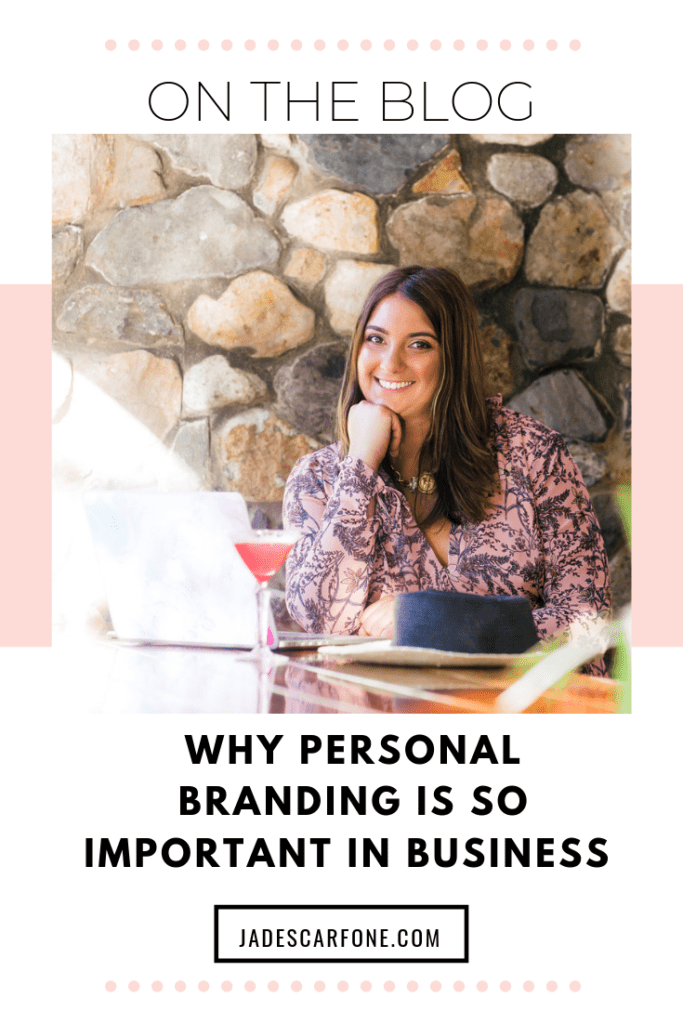 Many entrepreneurs put a lot of focus into building their business brands but today let's talk about why building your personal brand is just as important.