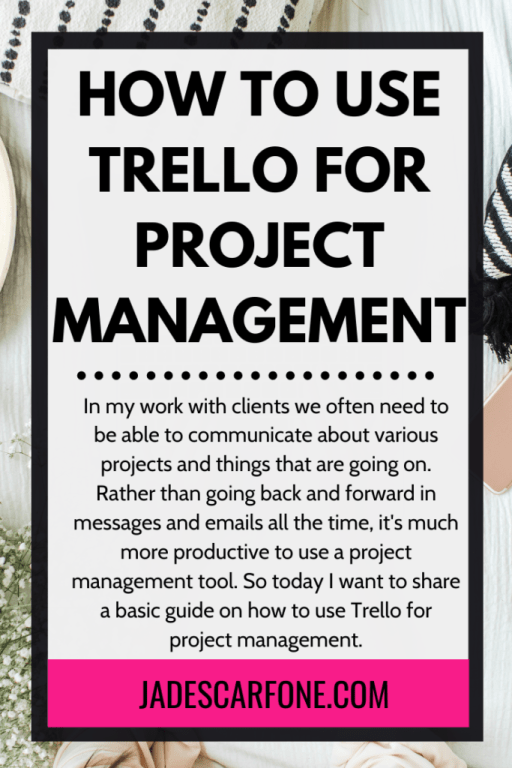 In my work with clients we often need to be able to communicate about various projects and things that are going on. Rather than going back and forward in messages and emails all the time, it's much more productive to use a project management tool. So today I want to share a basic guide on how to use Trello for project management.