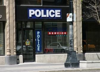 Illuminated - Police Boxed Illuminated Sign