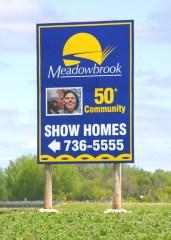 Community Billboard Sign