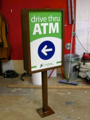 Free Standing Directional Sign