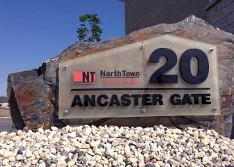 Granite Rock Sign