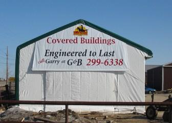 Vinyl Building Banner