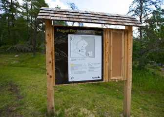 Interpretive - Cedar Trail Sign