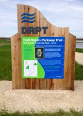 Cedar Interpretive Trails Sign