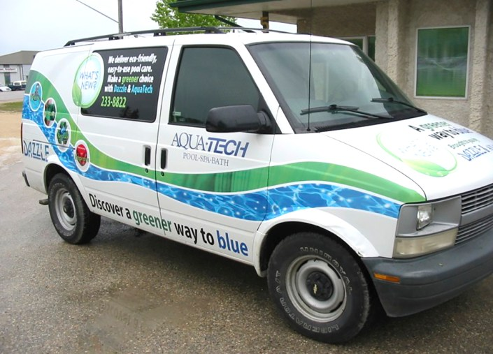 aquatech vehicle wrap