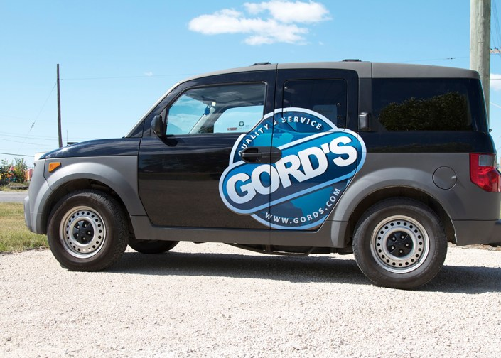 gords vehicle wrap