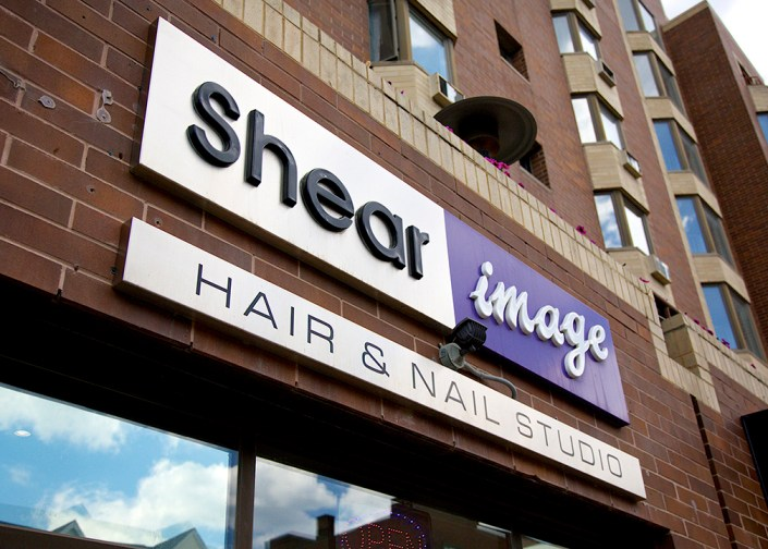 shear image sign