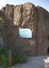 Interpretive Trail Signs - rock