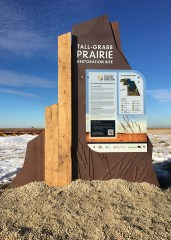 Interpretive Trail Signs - Prairie