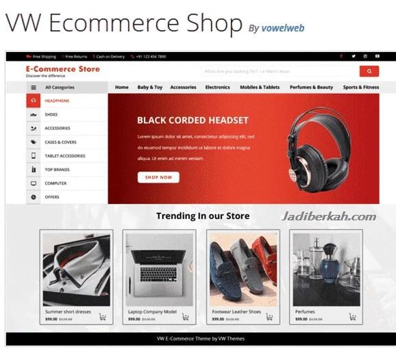 5 Tema WordPress toko online terbaik