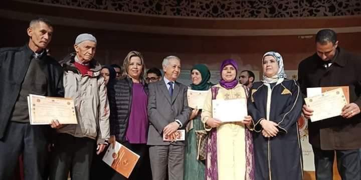 """تتويج تعاونية لـولاد للنجارة بشارة الجودة الوطنية للصناعة التقليدية بحفل """"المغرب صنع يدوي"""""""