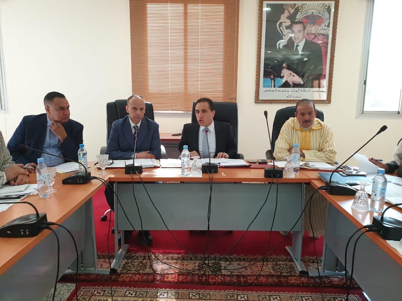 بني ملال : مجلس جهة يطلع على تقدم برنامج تقليص الفوارق الاجتماعية