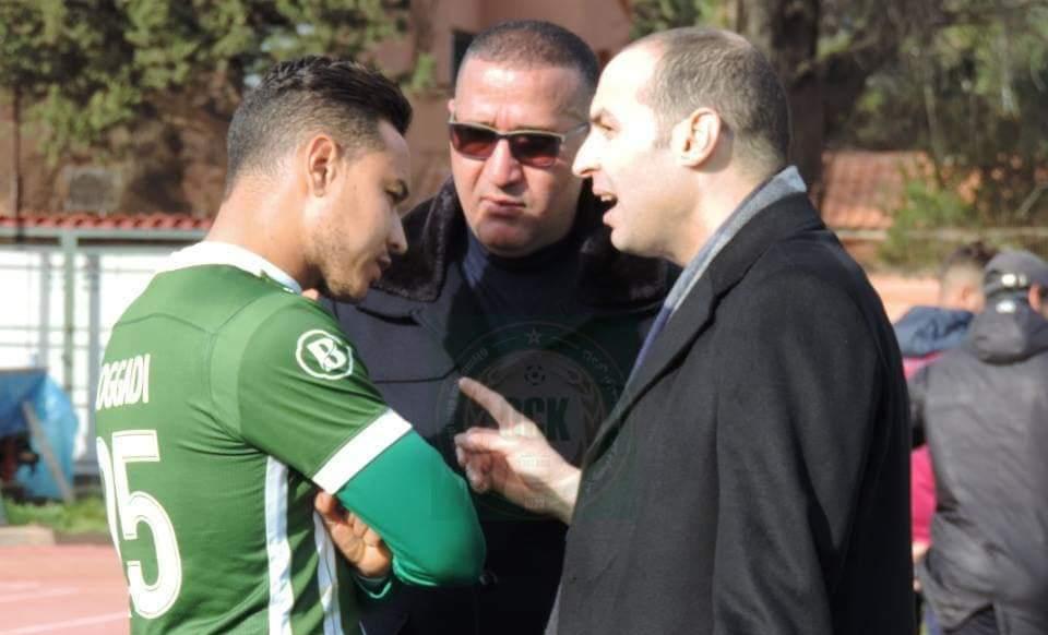 رئيس أولمبيك خريبكة يتفاعلُ مع تقرير أمين بنهاشم
